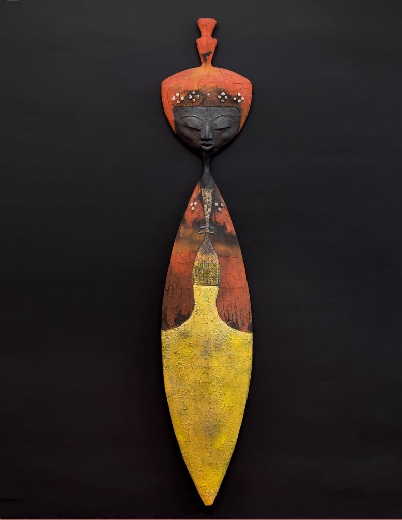 Woman From Borneo - Etiyé Dimma Poulsen - Leonhard's Gallery