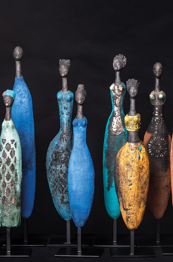Group Picture 7 - Etiyé Dimma Poulsen - Leonhard's Gallery