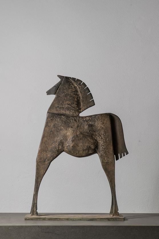 Caballo Hileo front - Editie 3-8 - Carlos Mata - Leonhard's Gallery
