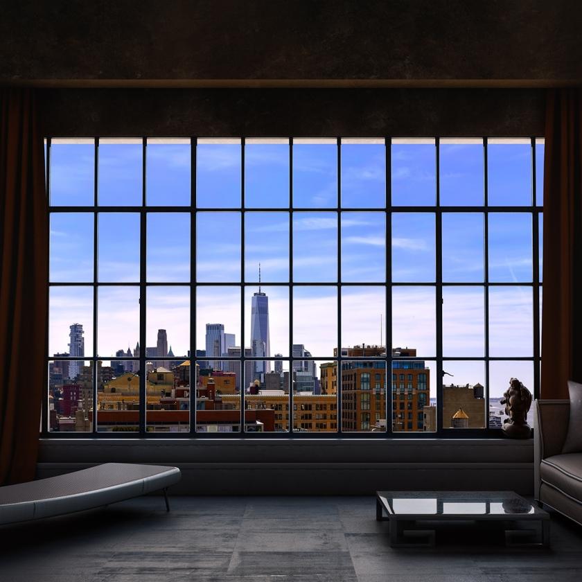 WINDOWS 2.0 - As A Such True Day - 100x170 cm - 125x210 cm -150x250 cm - 2019 - Luc Dratwa - Leonhard's Gallery