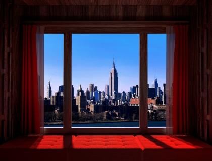 WINDOWS 2.0 - Love At The First Sight - 120x150 cm -135x170 cm -150x190 cm - 2019 - Luc Dratwa - Leonhard's Gallery