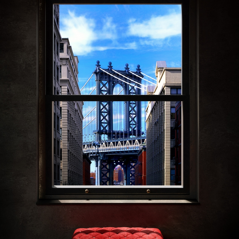 WINDOWS 2.0 - Wish You Were Here - 80x120 cm - 100x150 cm - 125 x 200 cm - 2019 - Luc Dratwa - Leonhard's Gallery