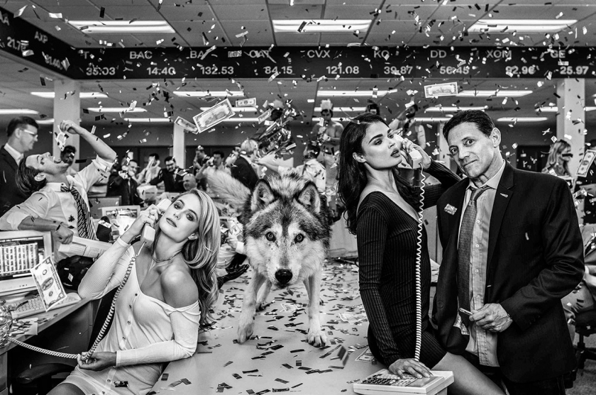 The Wolves of Wall Street - David Yarrow - Leonhard's Gallery