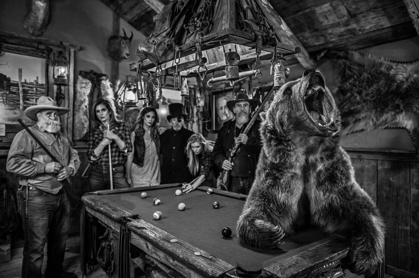 Winner-Stays-On - David Yarrow - Leonhard's Gallery