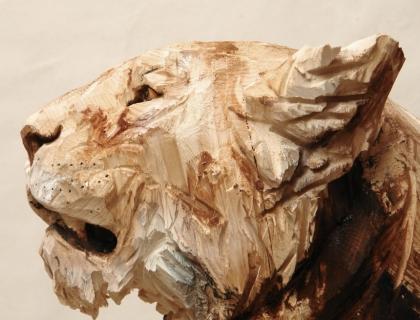 Buste de Lionne Guele Ouverte - Jürgen Lingl-Rebetez - Leonhard's Gallery