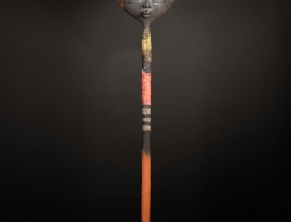 Red Totem - Etiyé Dimma Poulsen - Leonhard's Gallery