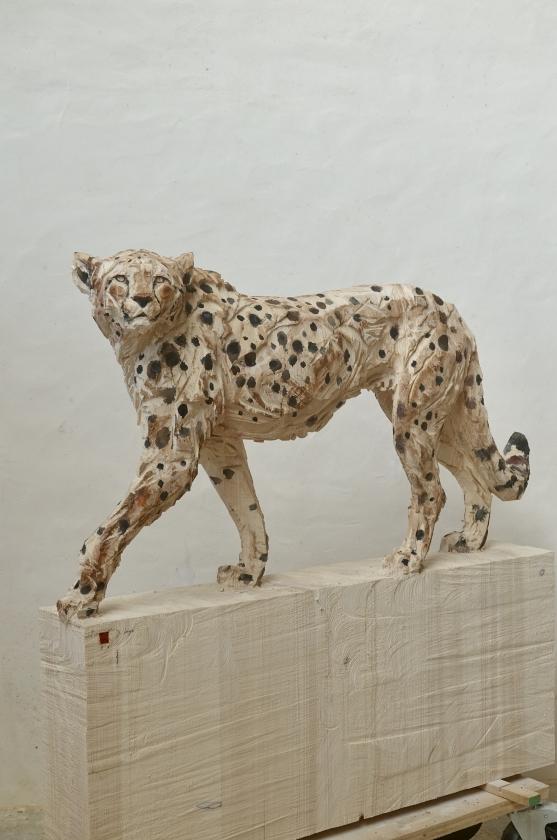 Walking Cheetah - Jürgen Lingl - Leonhard's Gallery