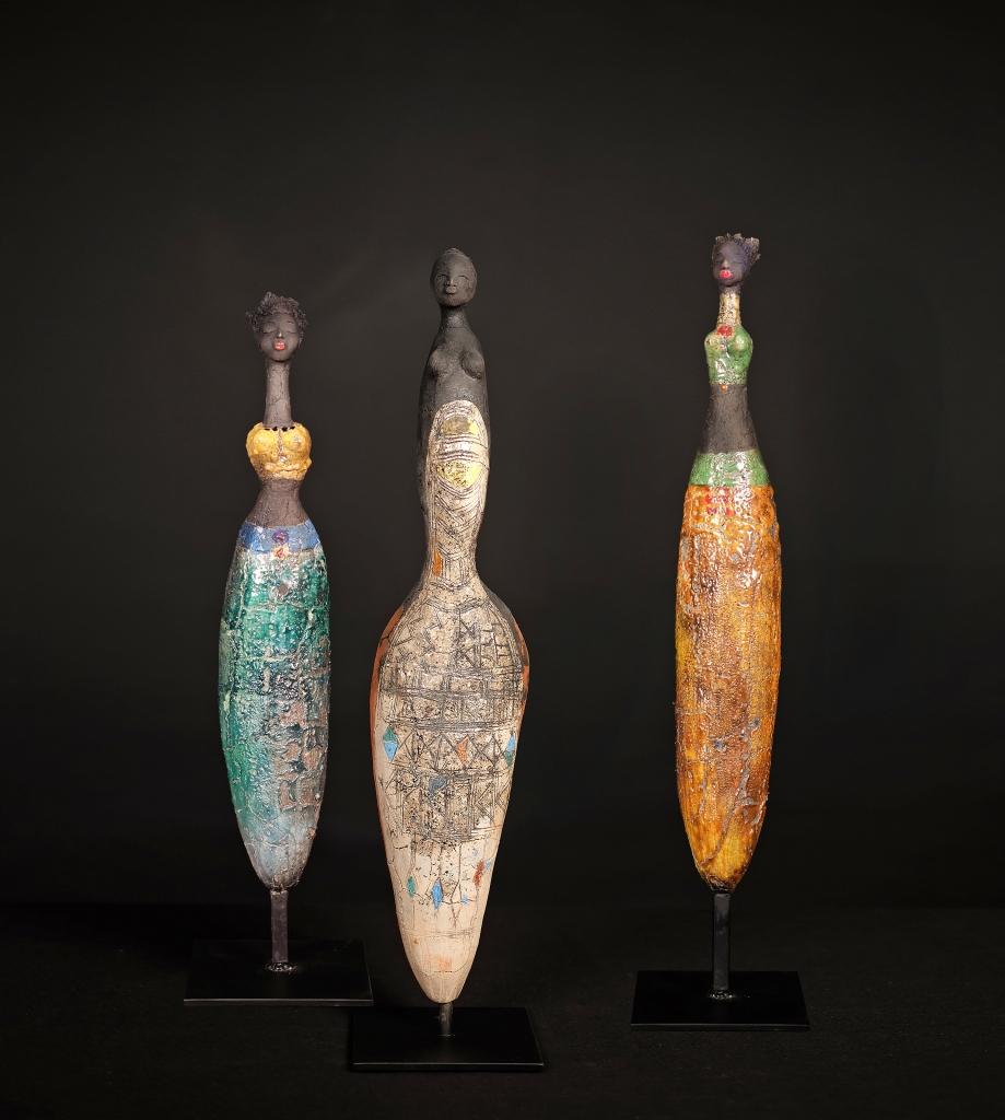The Botanist, Ampolo & Autumn - Etiyé Dimma Poulsen - Leonhard's Gallery