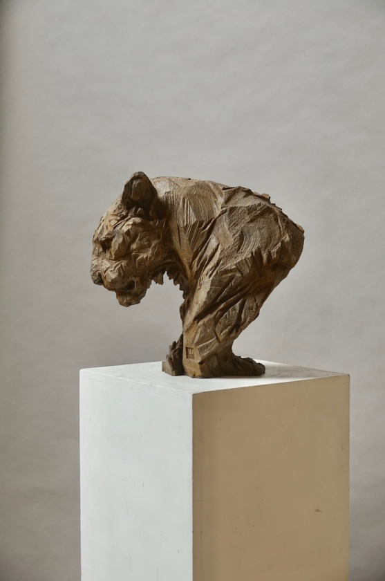 Panther Bronze - Jürgen Lingl - Leonhard's Gallery