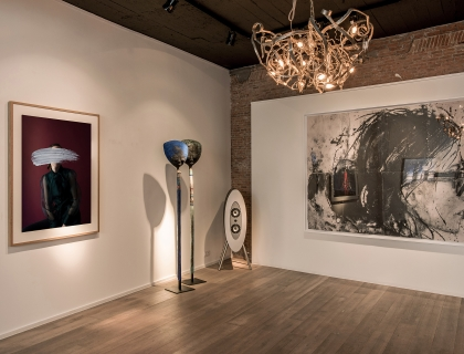 Gallery Setup Leopoldstraat Antwerpen - Leonhard's Gallery