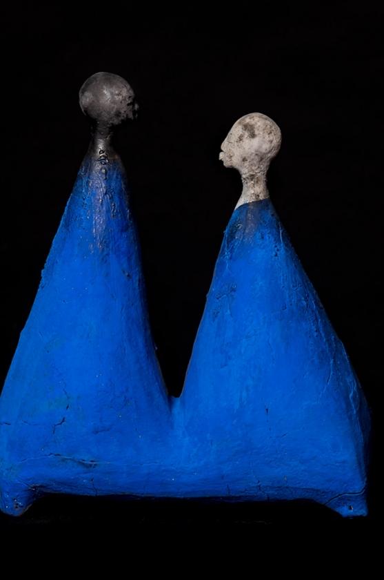 Couple - Etiyé Dimma Poulsen - Leonhard's Gallery