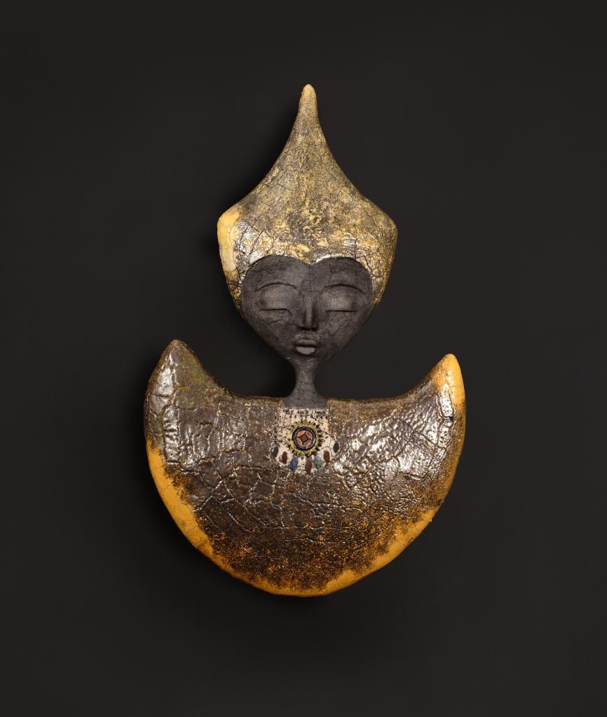 Orange Mezza Luna - Etiyé Dimma Poulsen - Leonhard's Gallery