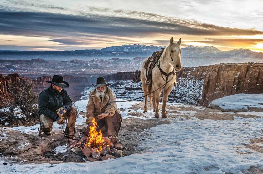 Blazing Saddles - David Yarrow - Leonhard's Gallery