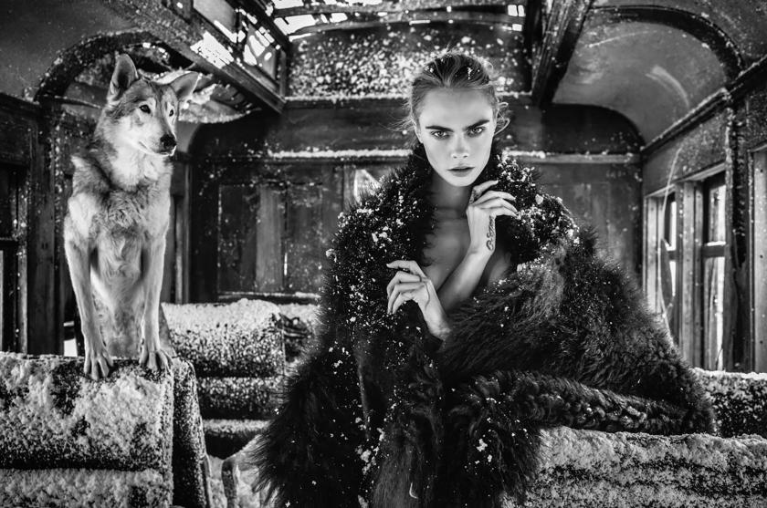 The Girl On The Train - David Yarrow - Leonhard's Gallery