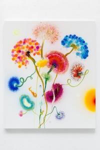 Psychotropical Capriccio - 130 x 110 x 4,5 cm - Thierry Feuz - Leonhard's Gallery