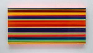 Technicolor Large Panorama Tenere - 110 x 240 x 12 cm - Thierry Feuz - Leonhard's Gallery