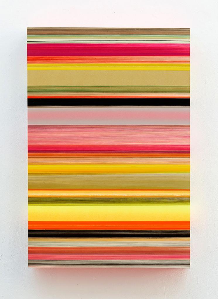 Technicolor Panorama Iduna - 110 x 75 x 12 cm - Thierry Feuz - Leonhard's Gallery
