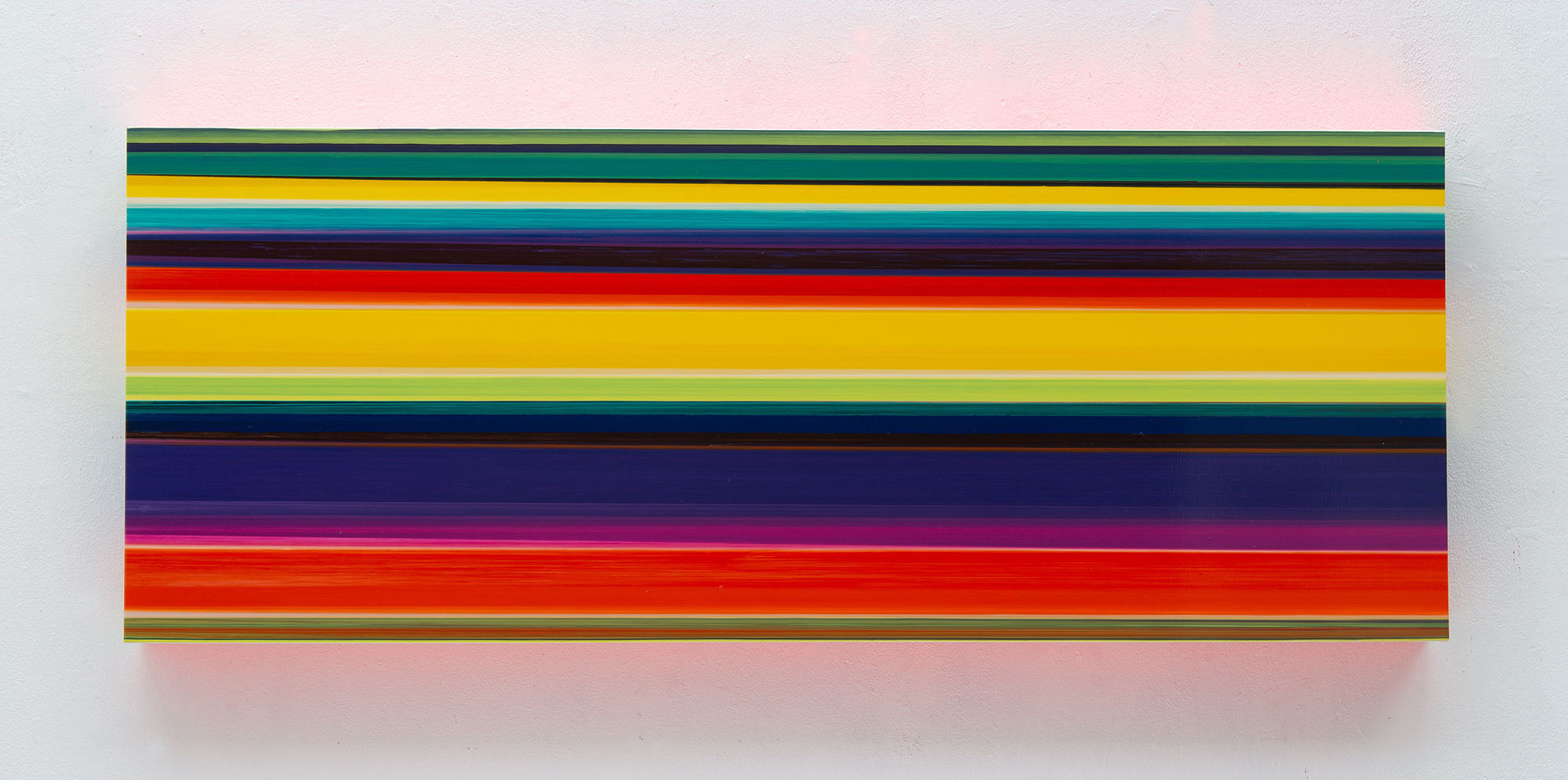Technicolor Panorama Orba - 70 x 180 x 12 cm - Thierry Feuz - Leonhard's Gallery