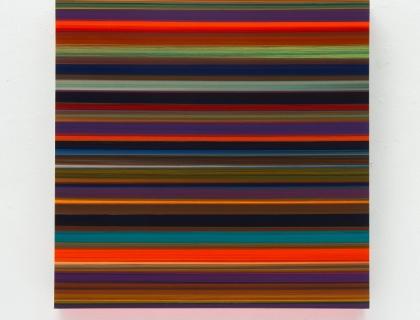Technicolor Square Radion - 110 x 110 x 12 cm - Thierry Feuz - Leonhard's Gallery