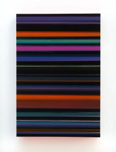 Technicolor Stratus Blackout Robin - 110 x 75 x 12 cm - Thierry Feuz - Leonhard's Gallery
