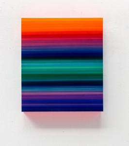 Technicolor Stratus Horizon - 80 x 70 x 12 cm - Thierry Feuz - Leonhard's Gallery