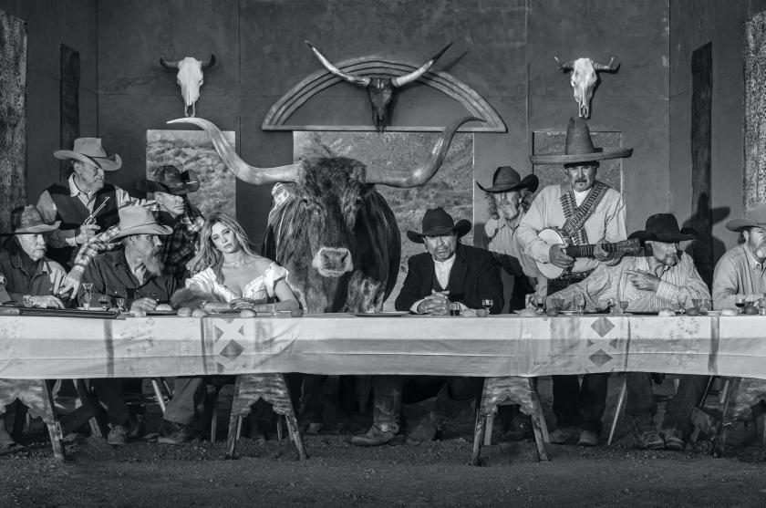 The Last Supper In Texas - David Yarrow - Leonhard's Gallery