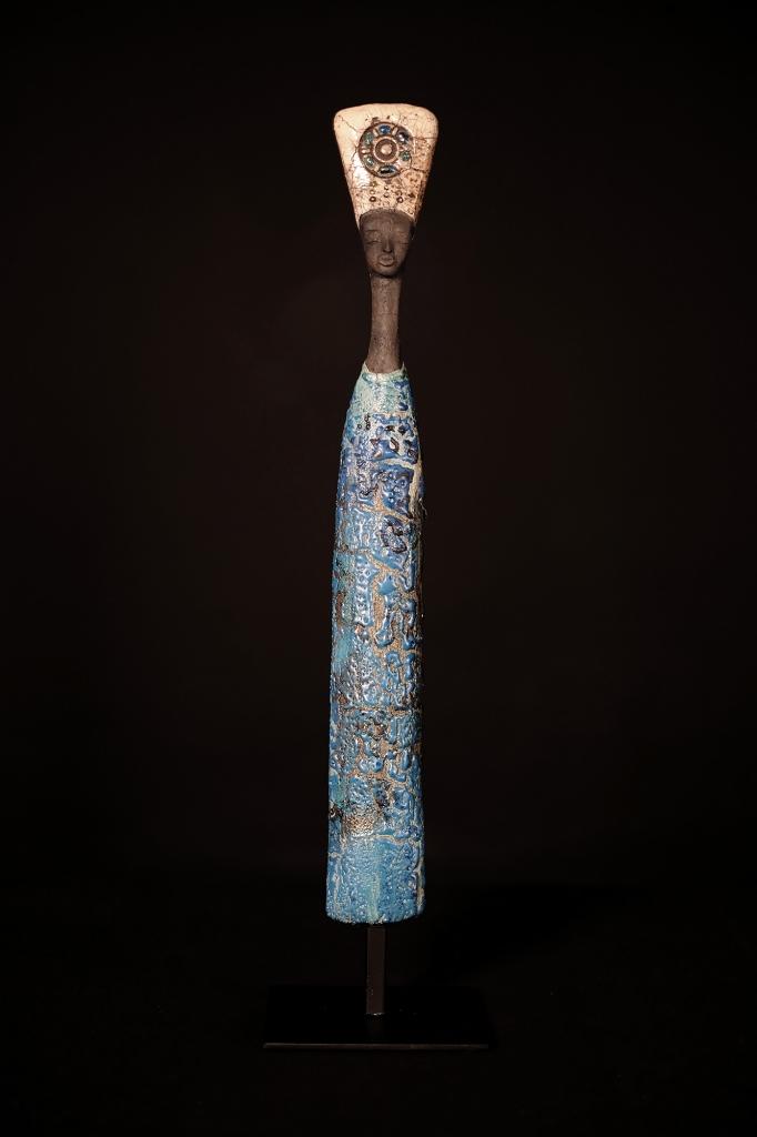 Bleu De Chine - Etiyé Dimma Poulsen - Leonhard's Gallery