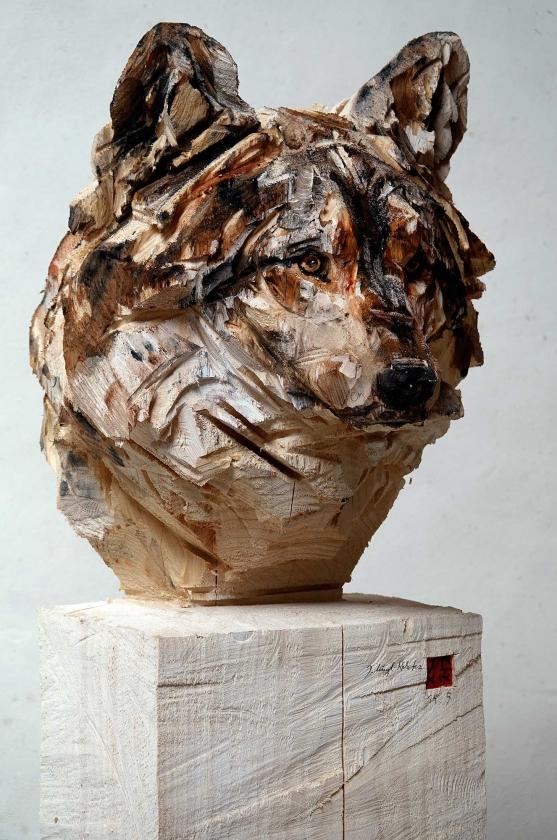 Buste De Loup - Jürgen-Lingl - Leonhard's Gallery