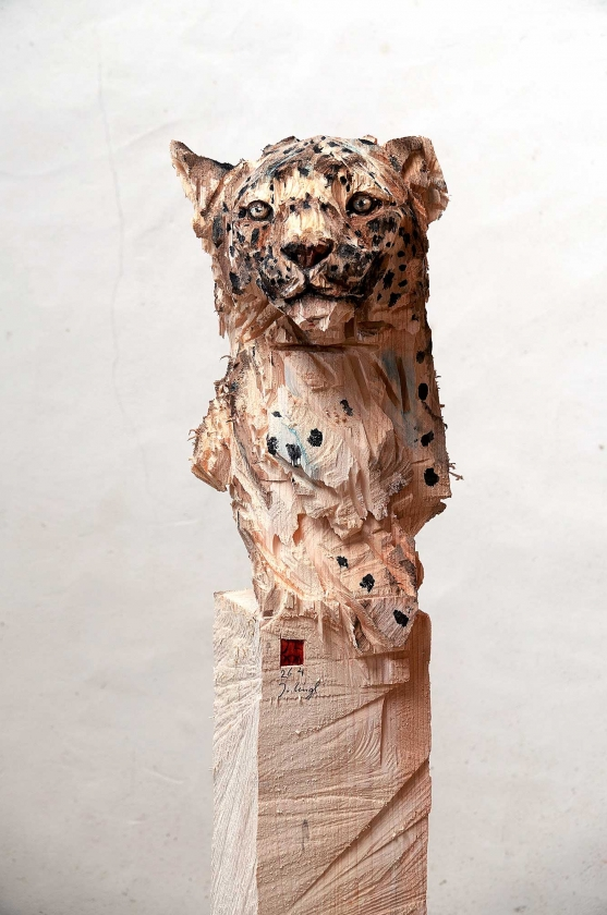 "Buste De Panther ""Rilke"" - Jürgen-Lingl - Leonhard's Gallery"